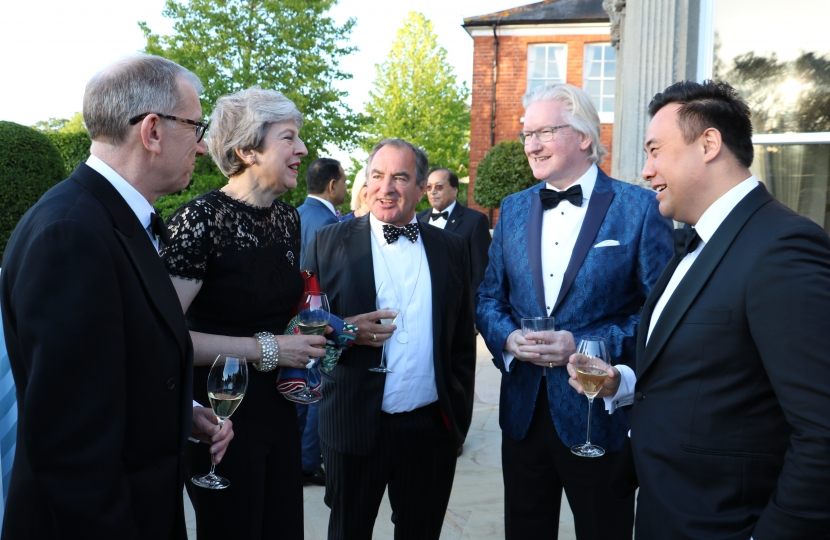 Jackson with Theresa & Philip May 2019